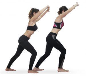 Ejercicio de gimnasia hipopresiva en Sane Pilates