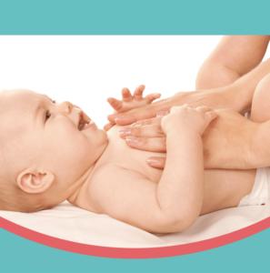 Taller masaje de bebés