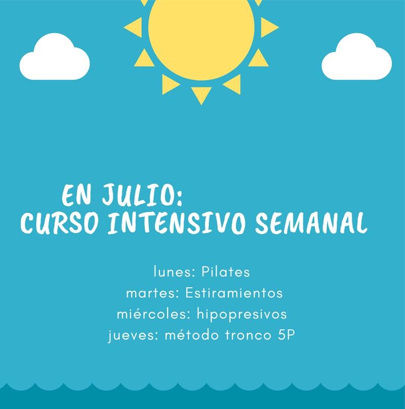 Cursos intensivos de verano en Sane Pilates
