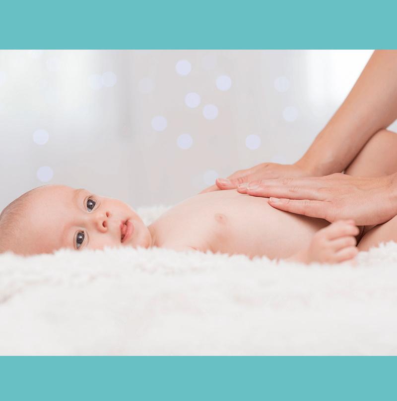 5 razones para realizar masajes a tu bebé